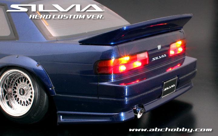 Nissan Silvia S13 Aero Custom Body Set With Light Buckets
