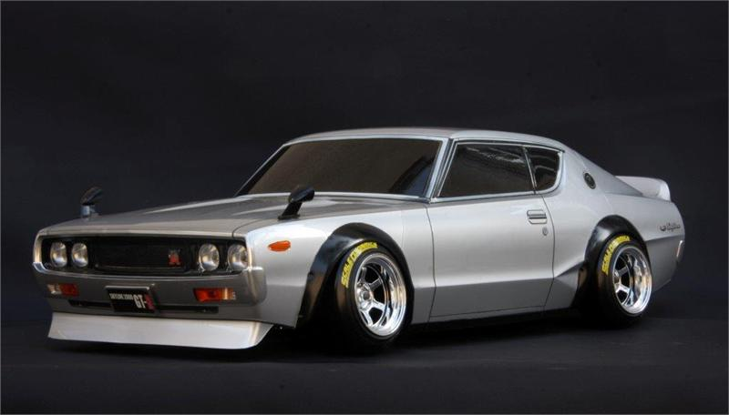nissan skyline 2000 gt r kenmeri body set with light buckets. Black Bedroom Furniture Sets. Home Design Ideas