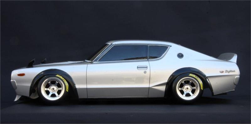 Nissan Skyline 2000 Gt R Kenmeri Body Set With Light