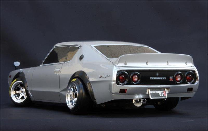 Abc Nissan Parts NISSAN SKYLINE 2000 GT-R (Kenmeri) / Body Set with Light ...